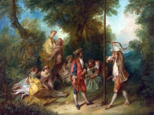 Nicolas Lancret - The Four Ages of Man - Maturity