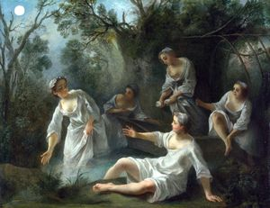 Nicolas Lancret - The Four Times of Day - Evening