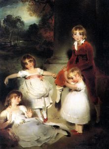Thomas Lawrence - Portrait of the Children of John Angerstein