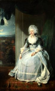 Thomas Lawrence - Queen charlotte