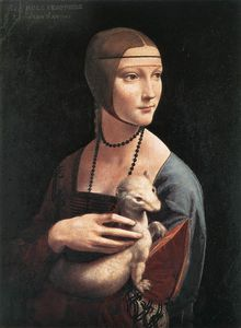 Leonardo Da Vinci - Portrait of Cecilia Gallerani (Lady with an Ermine)