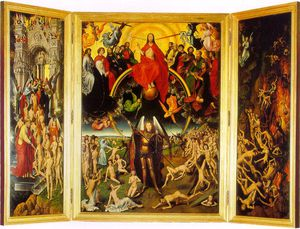 Hans Memling - The last judgement triptych