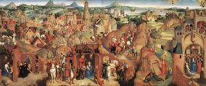 Hans Memling - late - Advent and Triumph of Christ