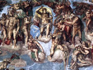 Michelangelo Buonarroti - Last Judgment d3