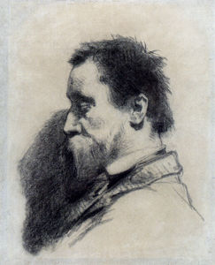 Jean-François Millet - Portrait of a Man Said yo be Leopold Desbrosses