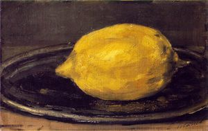 Claude Monet - The lemon