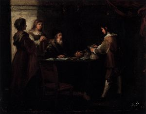 Bartolome Esteban Murillo - The prodigal son receives his rightful inheritance