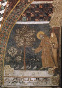Master Of St Francis - Preaching to the Birds
