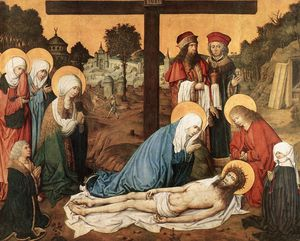 Master Of The Housebook - Lamentation of Christ