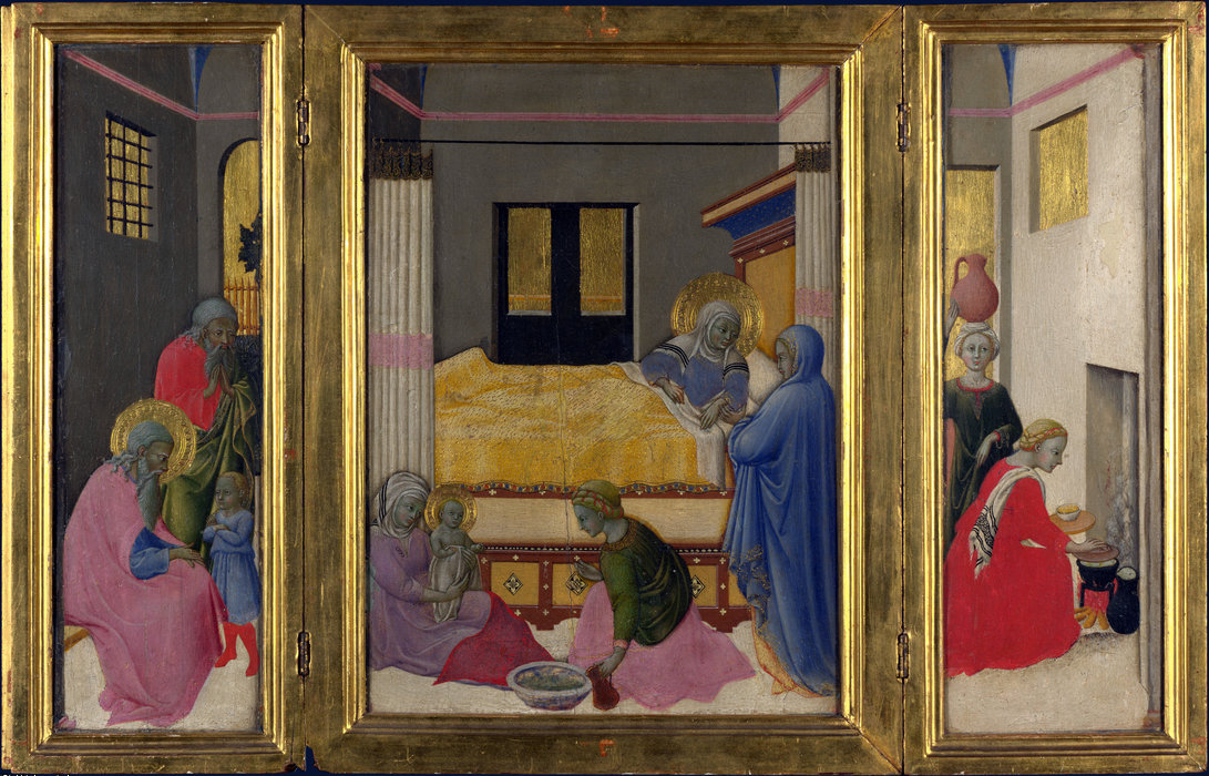 Birth of the Virgin by Master Of The Osservanza
