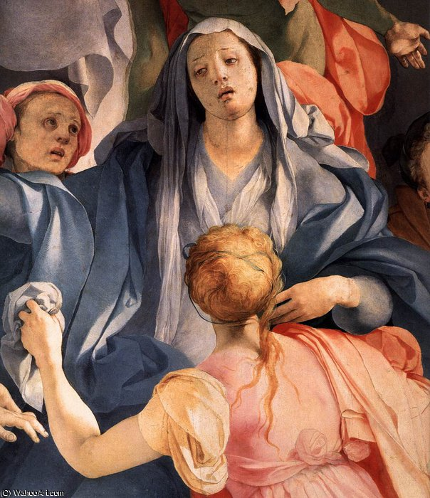 Deposition (detail)2 by Jacopo Carucci (Pontormo) (1494-1557, Italy)