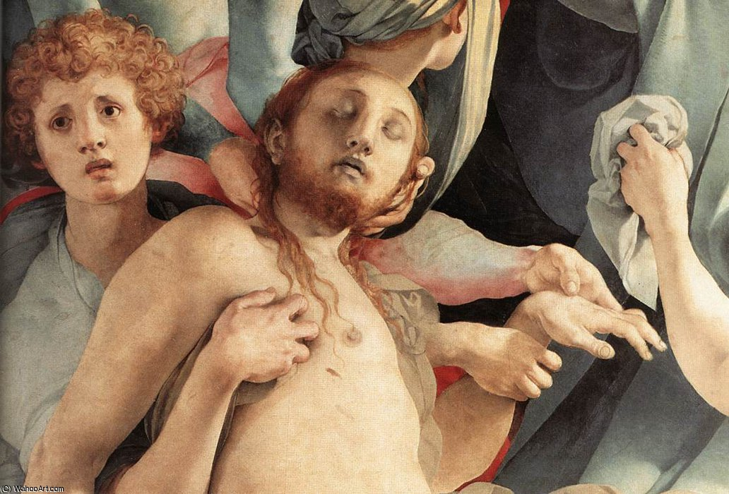 Deposition (detail)4 by Jacopo Carucci (Pontormo) (1494-1557, Italy)
