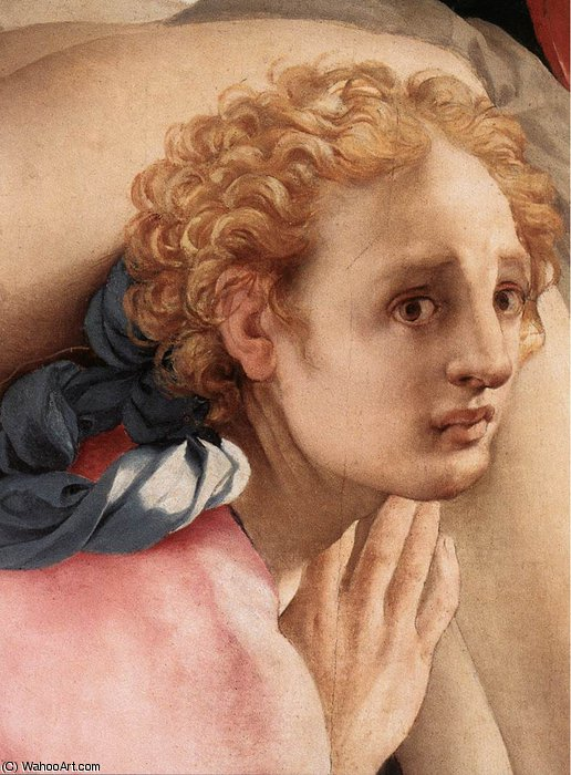 Deposition (detail)5 by Jacopo Carucci (Pontormo) (1494-1557, Italy) | Painting Copy | WahooArt.com
