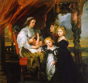 Peter Paul Rubens - Deborah Kip and her Children