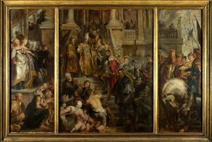 Peter Paul Rubens - Oil Sketch for High Altarpiece, St Bavo, Ghent
