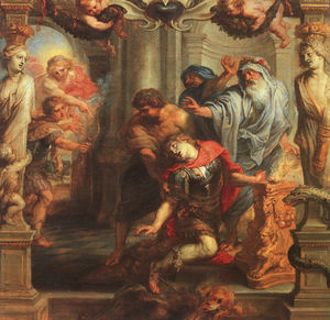 Peter Paul Rubens - The Death of Achilles