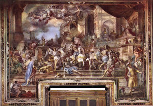 Francesco Solimena - Expxulsion of Heliodorus from the Temple