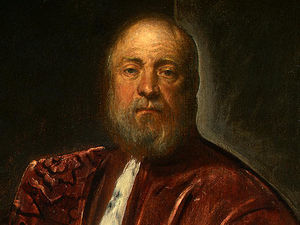Tintoretto (Jacopo Comin) - A Procurator of Saint Mark.s d -