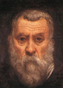 Tintoretto (Jacopo Comin) - Self portrait d -