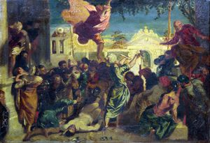 Tintoretto (Jacopo Comin) - The Miracle of Saint Mark