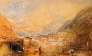 William Turner - Brunnen from the Lake of Lucerne