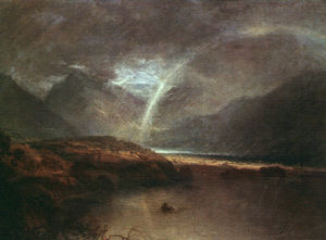 William Turner - Buttermere Lake a Shower
