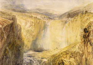 William Turner - Fall of the Tees Yorkshire