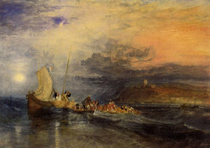 William Turner - Folkestone from the Sea