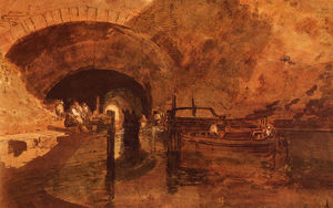 William Turner - a Canal Tunnel Near Leeds