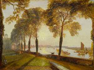 William Turner - Mortlake terrace