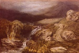 William Turner - Mountains stream, coniston