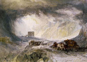 William Turner - Passage of Mount Cenis