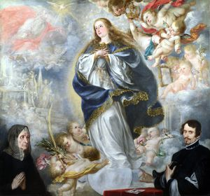 Juan De Valdés Leal - The Immaculate Conception with Two Donors