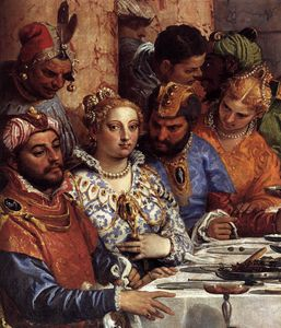 Paolo Veronese - The Wedding at Cana (detail)