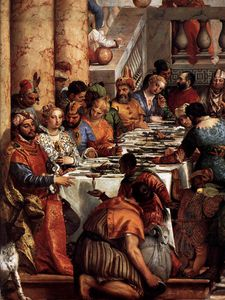 Paolo Veronese - The Wedding at Cana (detail)6