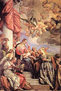 Paolo Veronese - The Marriage of St Catherine