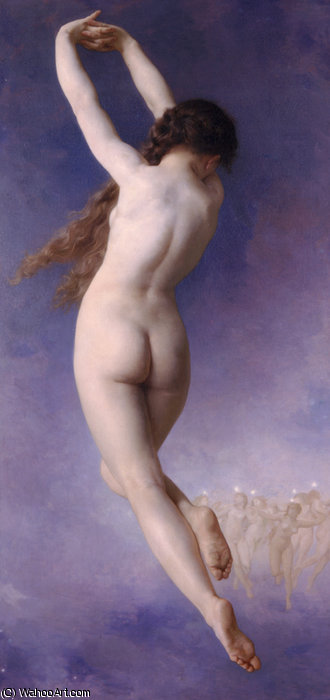 Letoile perdue by William Adolphe Bouguereau (1825-1905, France) | WahooArt.com