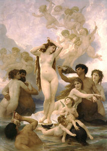 William Adolphe Bouguereau - Naissance de Venus