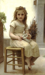 William Adolphe Bouguereau - Little gourmet