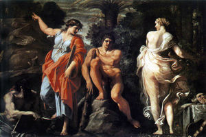 Annibale Carracci - The Choice of Heracles