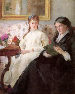 Berthe Morisot - The Mother and Sister of the Artist The Lecture