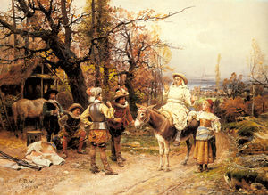 Cesare Augusto Detti - A halt along the way