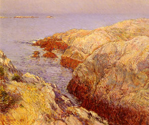 Frederick Childe Hassam - Hassan childe isles of shoals