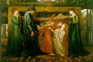 Dante Gabriel Rossetti - s Dream at the Time of the Death of Beatrice