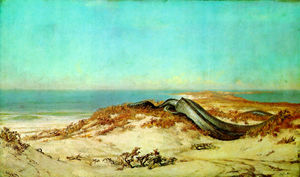 Elihu Vedder - Lair of the Sea Serpent