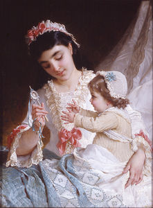 Emile Munier - Nd 10 distracting the baby