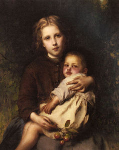 Etienne Adolphe Piot - Sisterly love