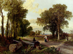 Frederick William Hulme - A wayside conversation
