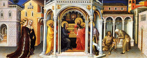 Gentile Da Fabriano - The presentation in the temple