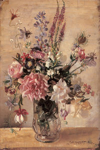 George Lambert - A garden bunch